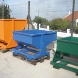 Fabricação de contentores metálicos