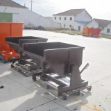 Fabricação contentores metálicos